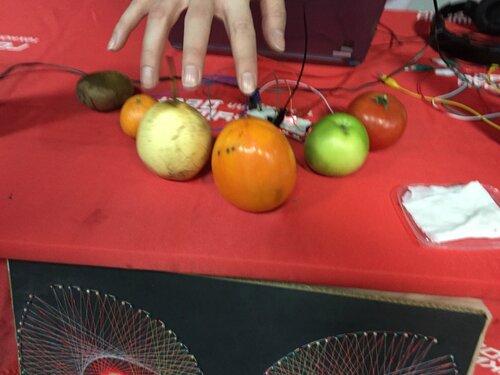 фруктовое пианино