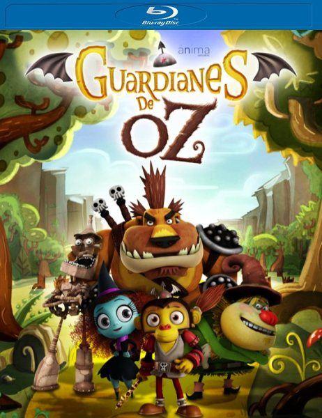 Оз: Нашествие летучих обезьян / Guardianes de Oz (2015/BDRip/1080p/720p/HDRip)