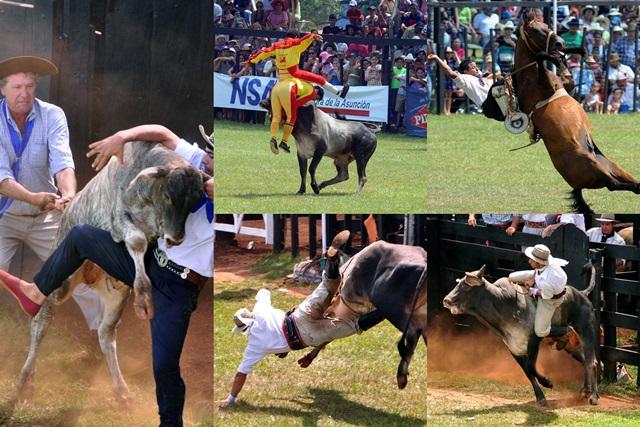 Фестиваль «Традиционный Мисьонес». Родео в Парагвае