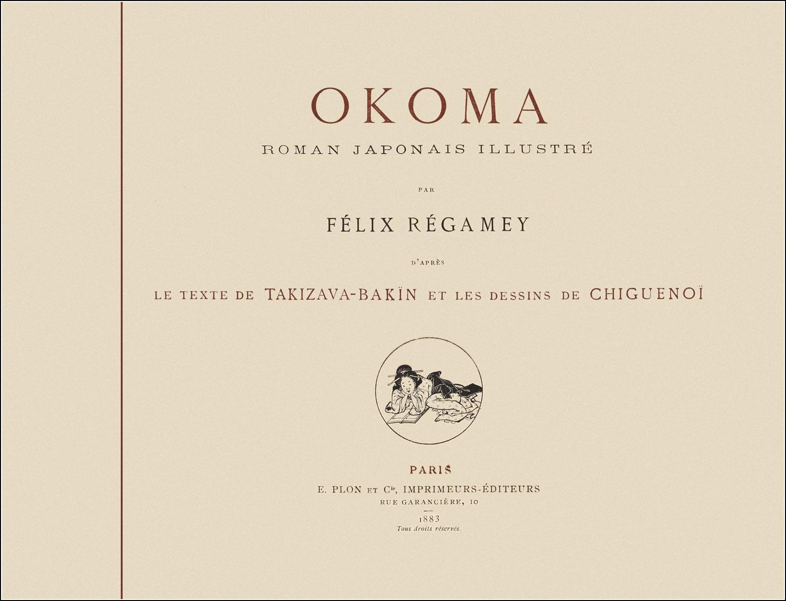 Félix Régamey, Okoma
