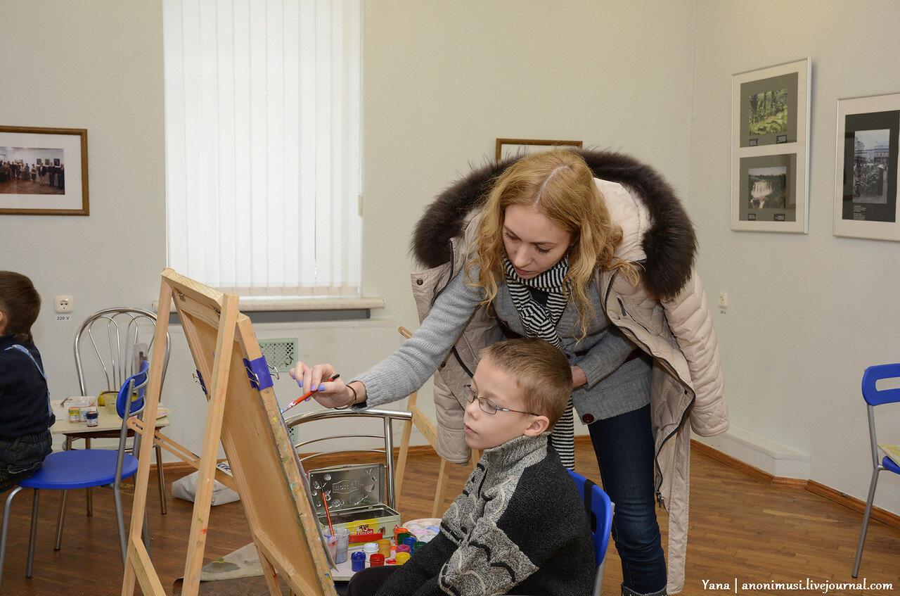 В гостях у тюбика в галерее Ващенко. Гомель