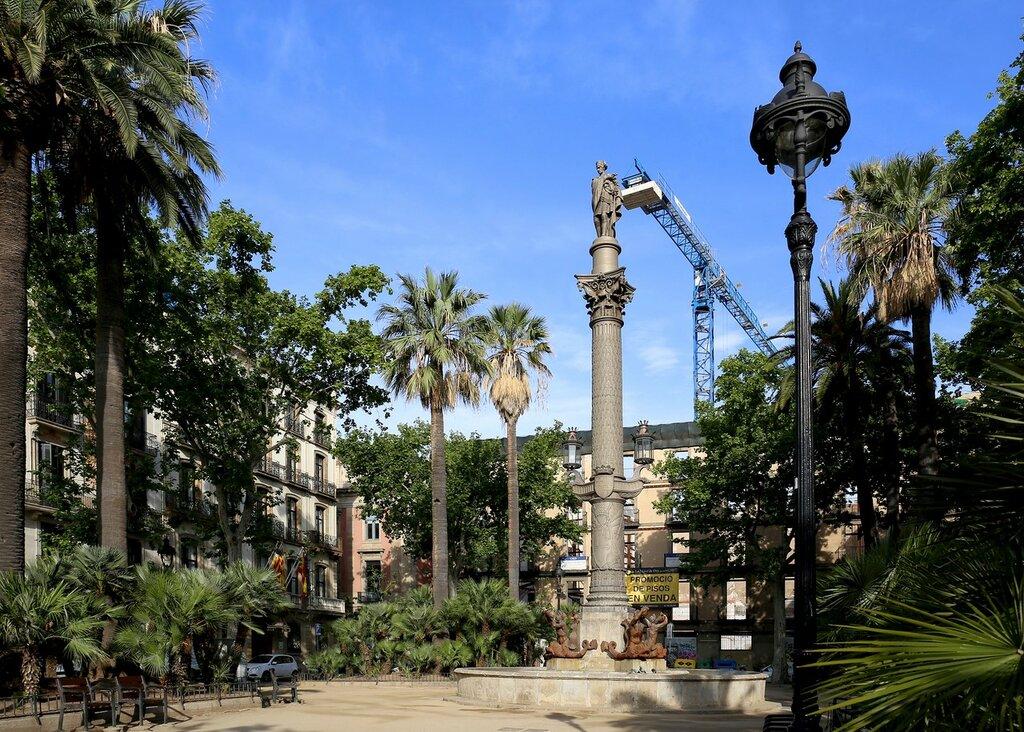 Barcelona. Duke of Medinaceli square (Plaza del Duque de Medinaceli)