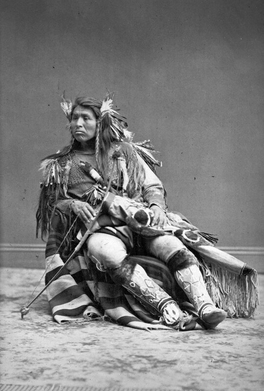 Cappolas (Capolis) Chief of the Warm Spring Indian Scouts, capturer of 'Captain Jack' of the Modocs, 1874