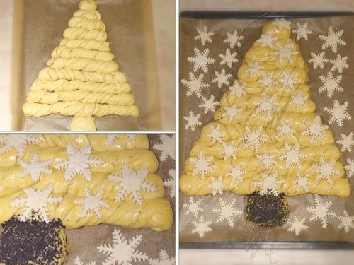 Хлеб «Рождественская ель»