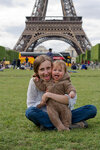 Ursulje and Eiffel tower