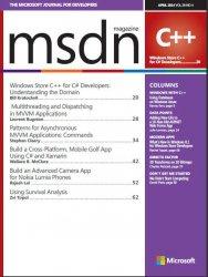 Журнал MSDN Magazine - April 2014
