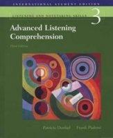 Аудиокнига Advanced Listening Comprehension pdf+wma (128 kbps, 44 khz, stereo) в архиве rar  291,8Мб