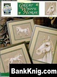Книга Буклет вышивки крестом «Great White Horse» от True colors jpg 3,34Мб