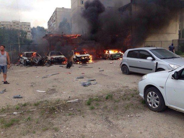 луганск мирный сгорела стоянка