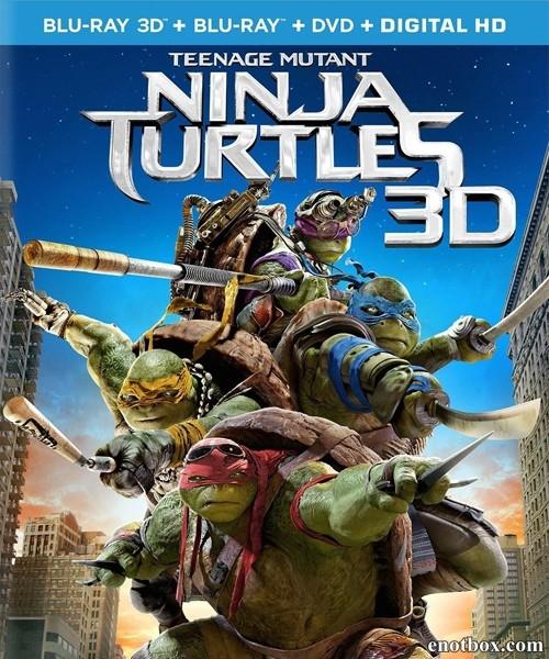 ���������-������ / Teenage Mutant Ninja Turtles (2014/BDRip/HDRip)