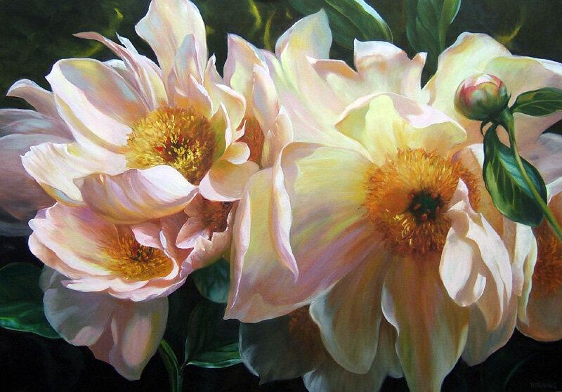 Я подарю любви своей цветы души! Элизабет Хорнинг