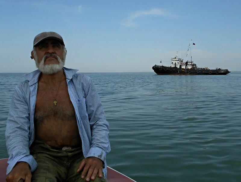На яхте, у буксира, стоящего на якоре ... DSCN0363.JPG