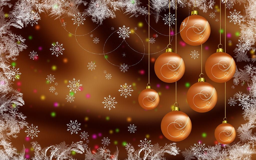 Фоны на новый год с анимацией