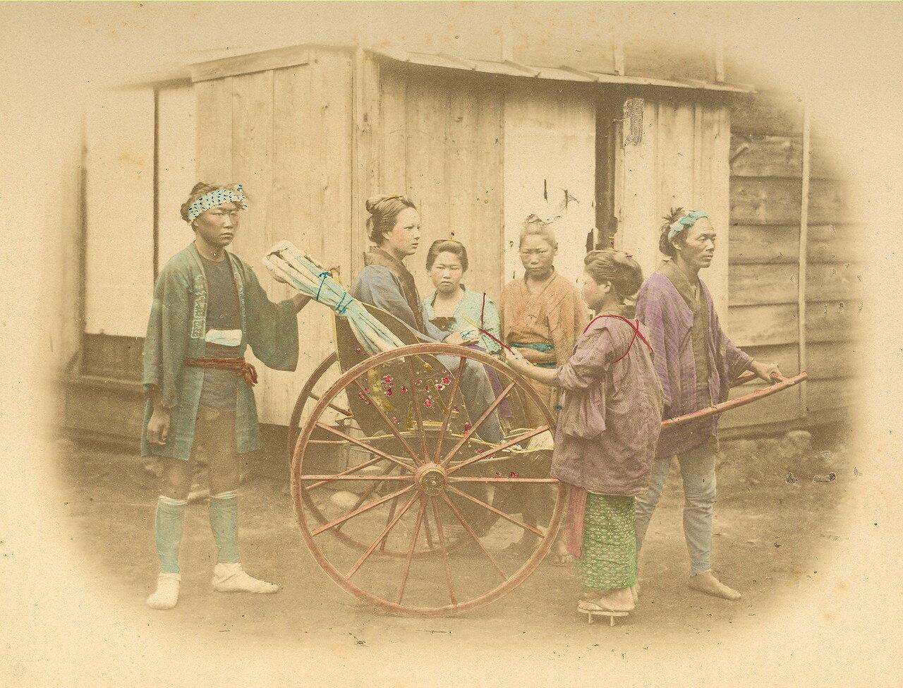 Рикша. 1875