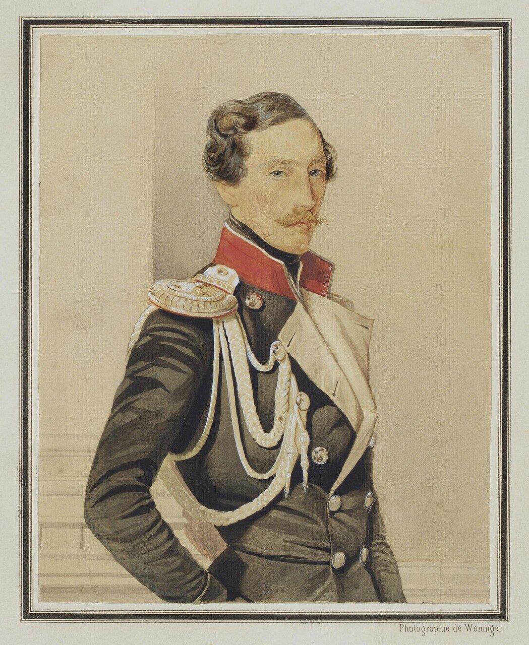 Портрет князя Владимира Ивановича Барятинского. 1849