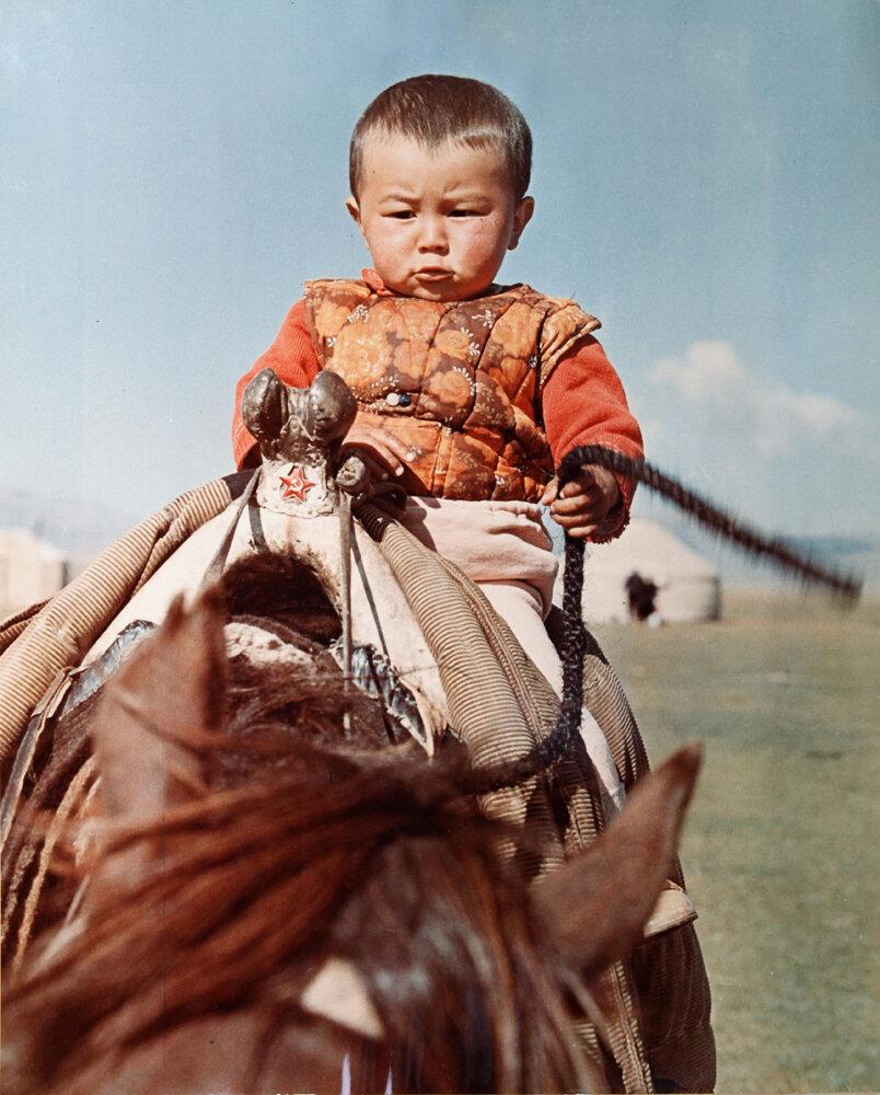 1970. Маленький наездник