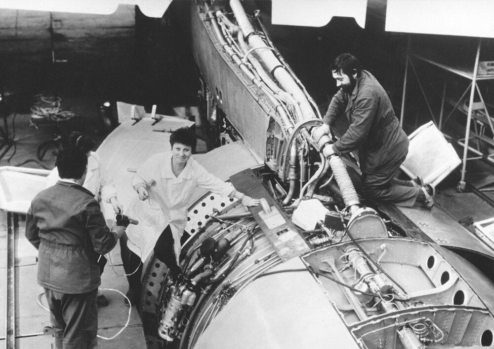 1988. Орбитальный корабль Буран