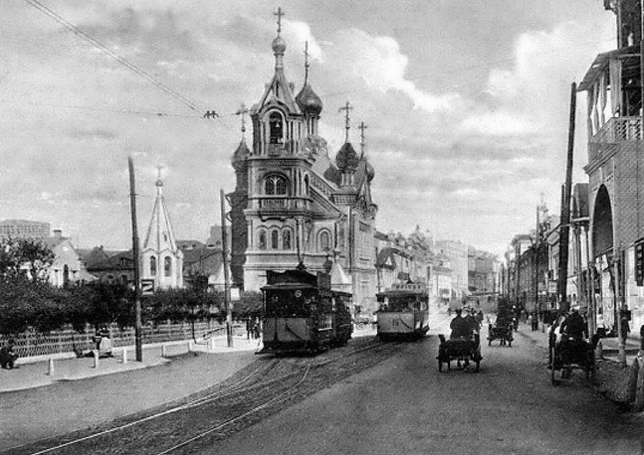 Улица Рождественская. Козьмодемьянская церковь