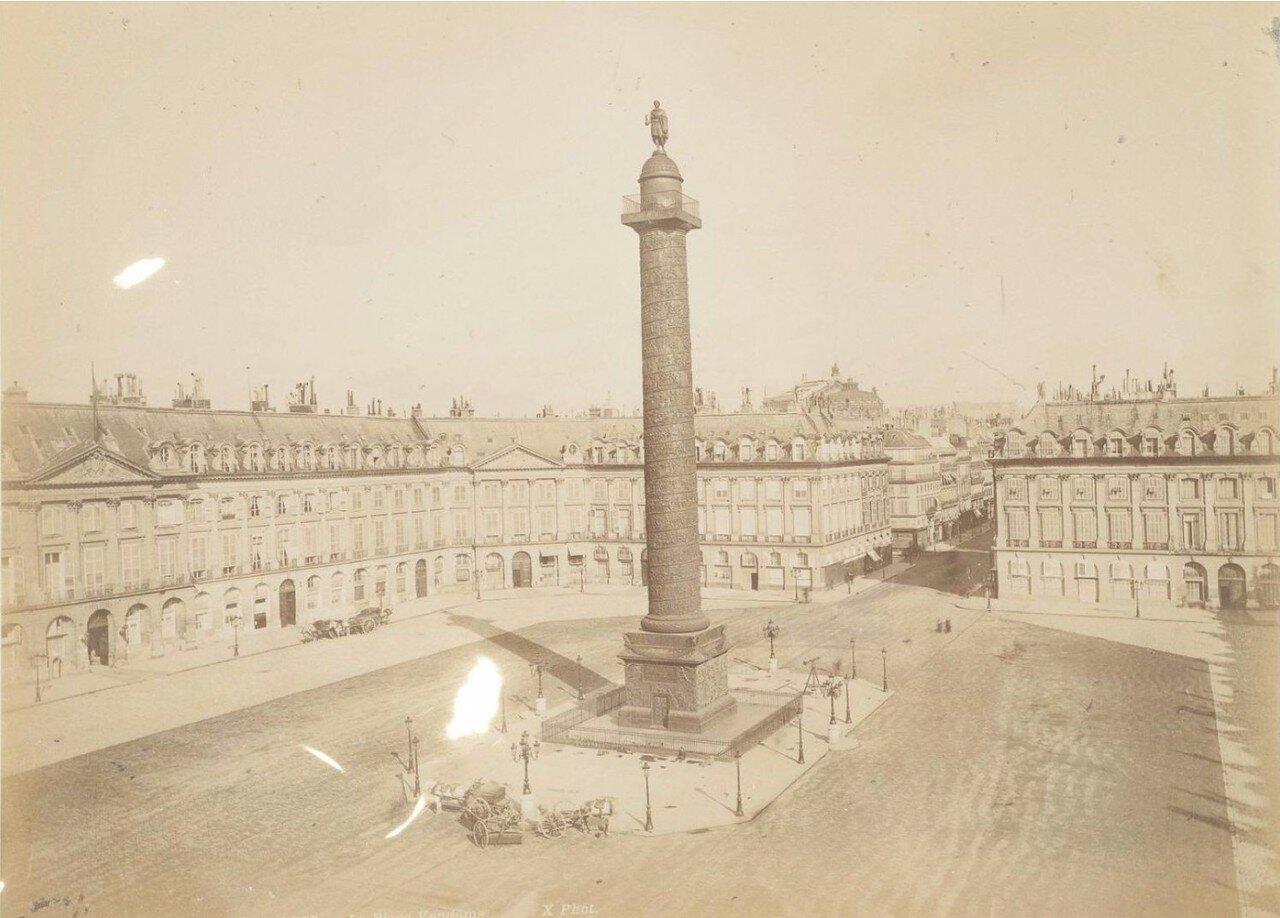 1885. Вандомская площадь