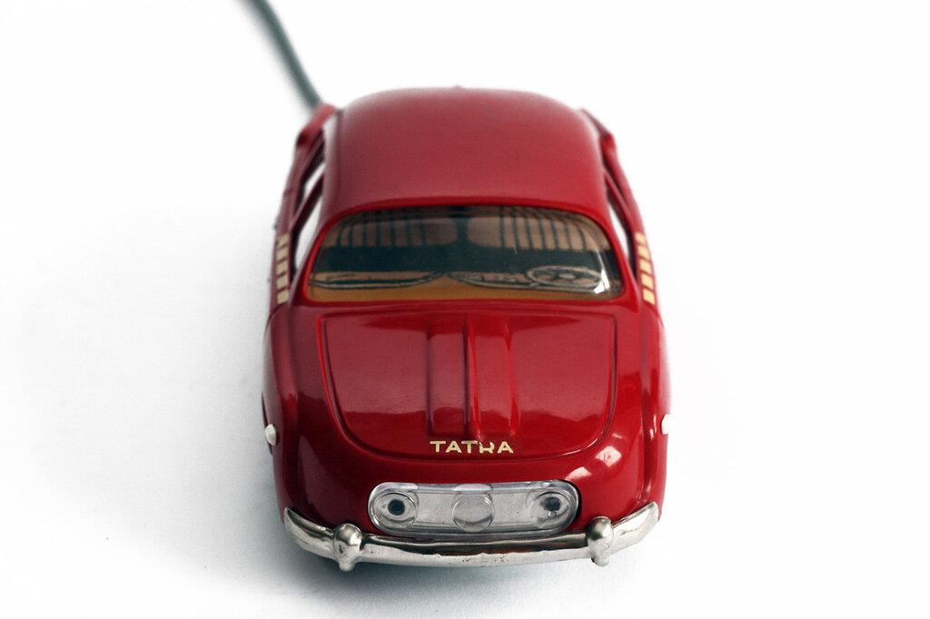Ites, Tatra 603, c1964. Czechoslovak made remote control toy car280.jpg