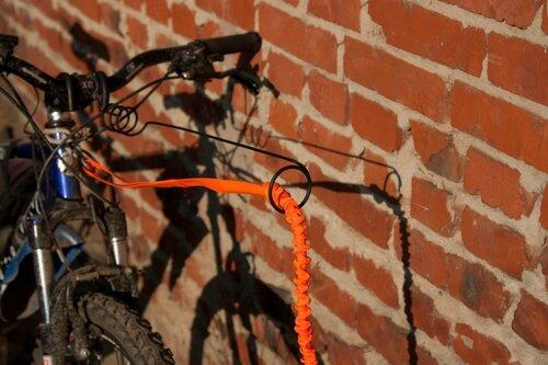 крепление для удочек на велосипед своими руками
