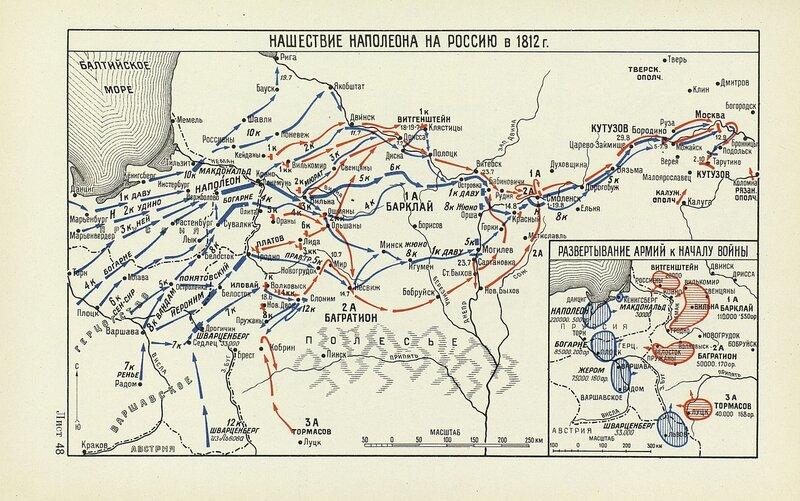 Нашествие Наполеона на Россию в 1812 году