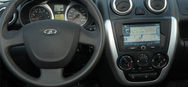Теперь Lada Granta оснащена навигационной системой