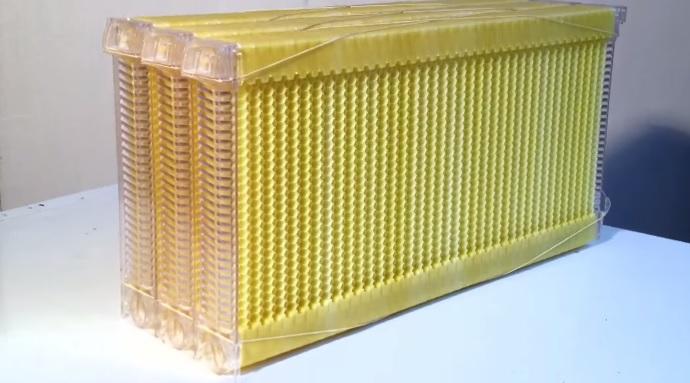 Улей с уникальной технологией сбора меда