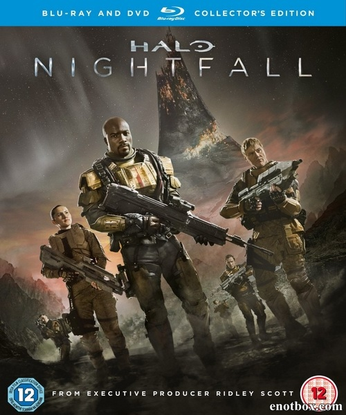 Halo: Сумерки / Halo: Nightfall (2014/BDRip/HDRip)