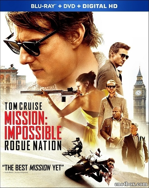 Миссия невыполнима: Племя изгоев / Mission: Impossible - Rogue Nation (2015/BD-Remux/BDRip/HDRip)
