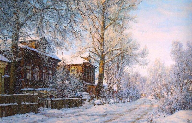 Олег Анастасов.Иней
