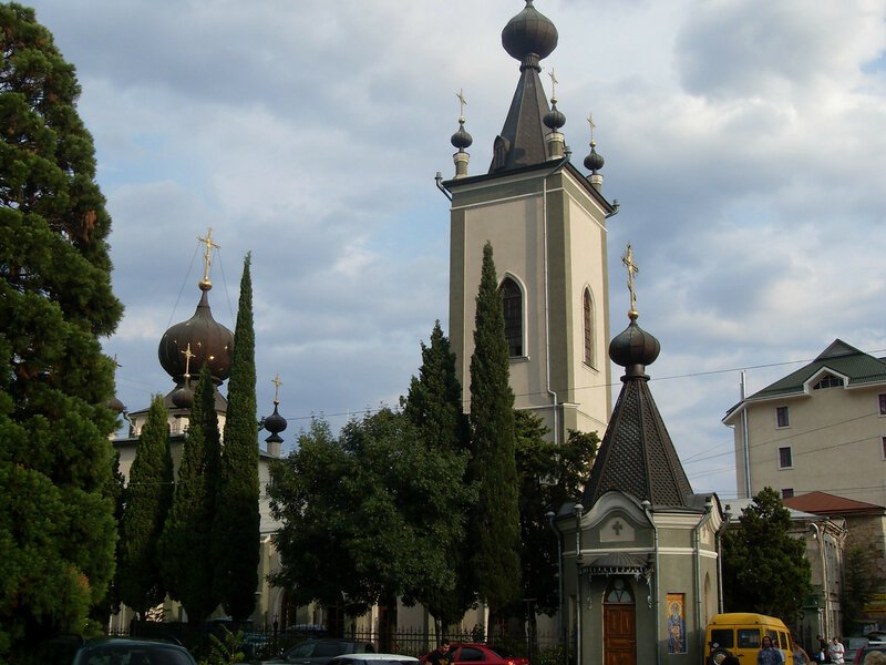 Храм имени крымских Святых и Феодора Стратилата