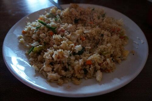 Veg-fried rice