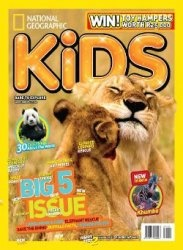 Журнал National Geographic KIDS - October 10 2013 / South Africa