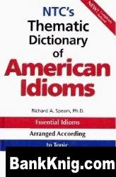 Книга NTC's Thematic Dictionary of American Idioms