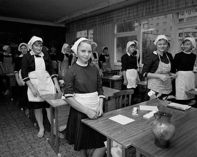 Киевская школа. 1989 год.