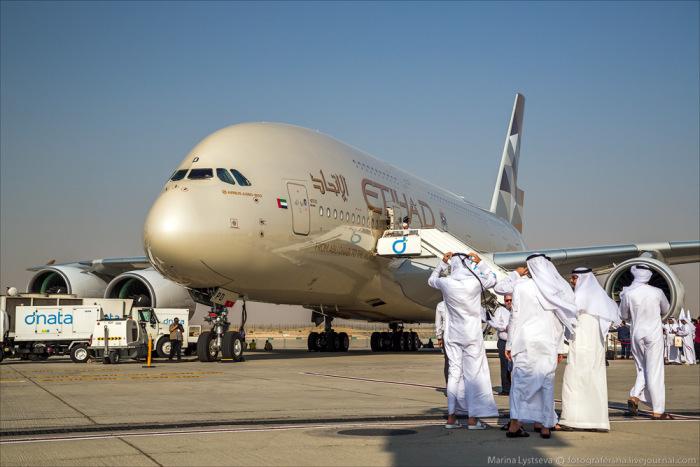 Самые роскошные самолеты летающие в Дубаи