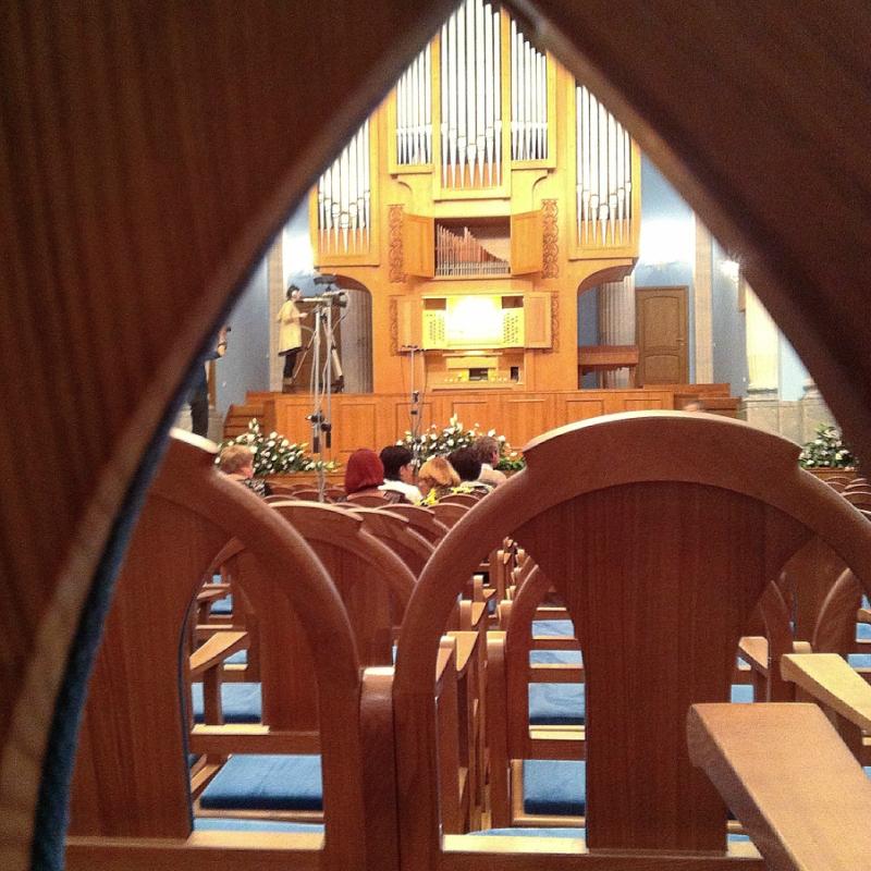 Торжественное открытие органного зала