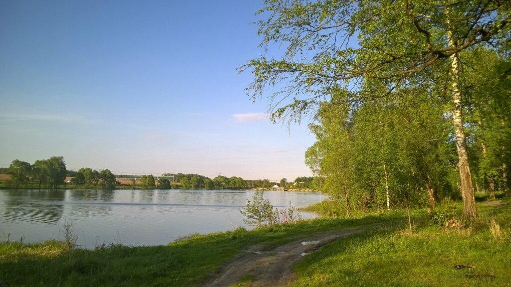 Запруженная река Лубянка
