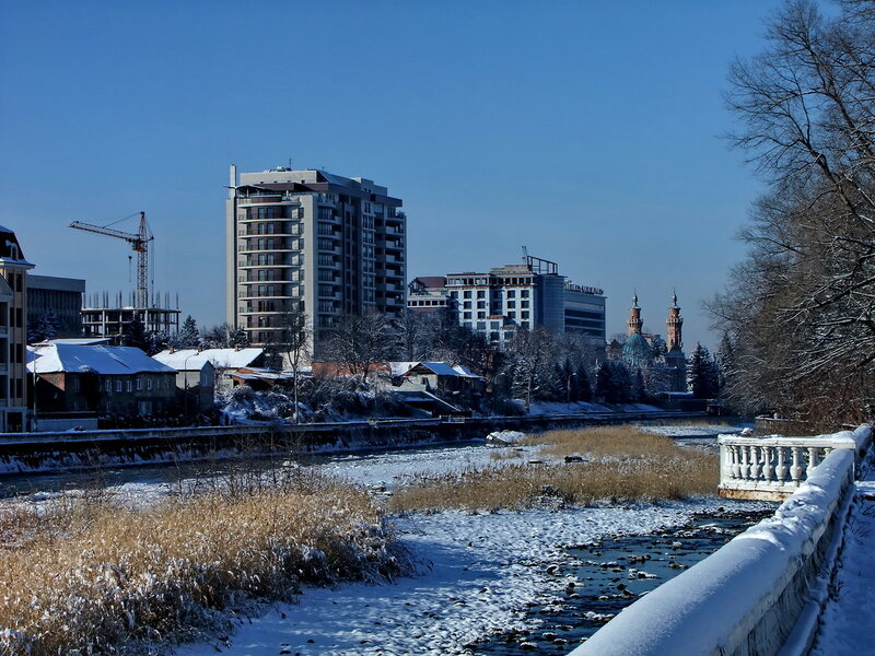Разноэтажный Владикавказ