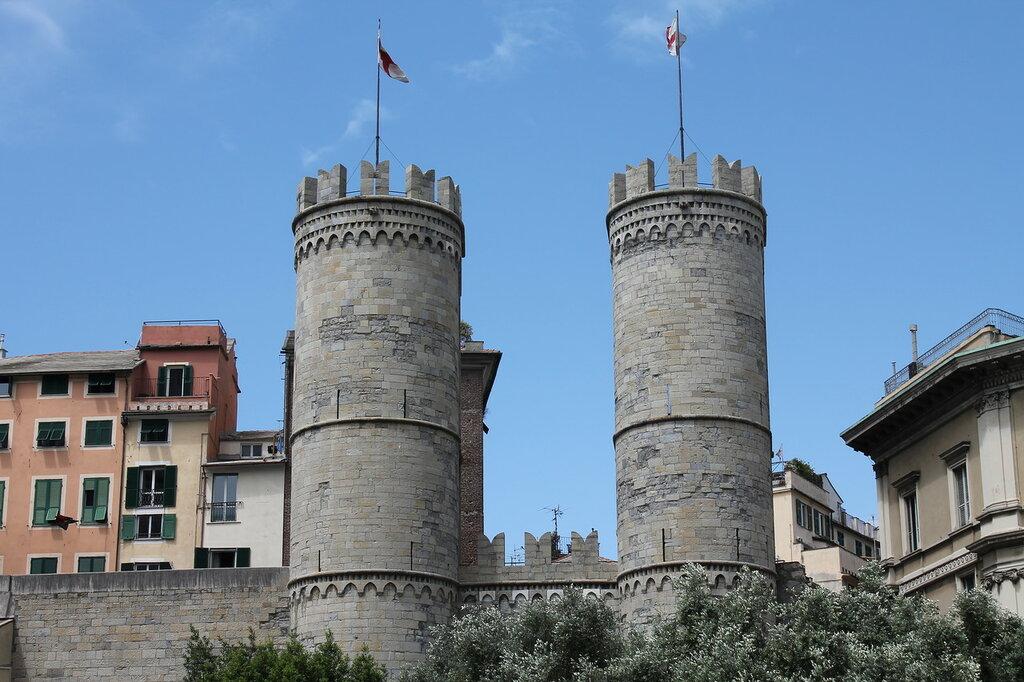 Genuya.Vorota Porto -Soprano século 12.