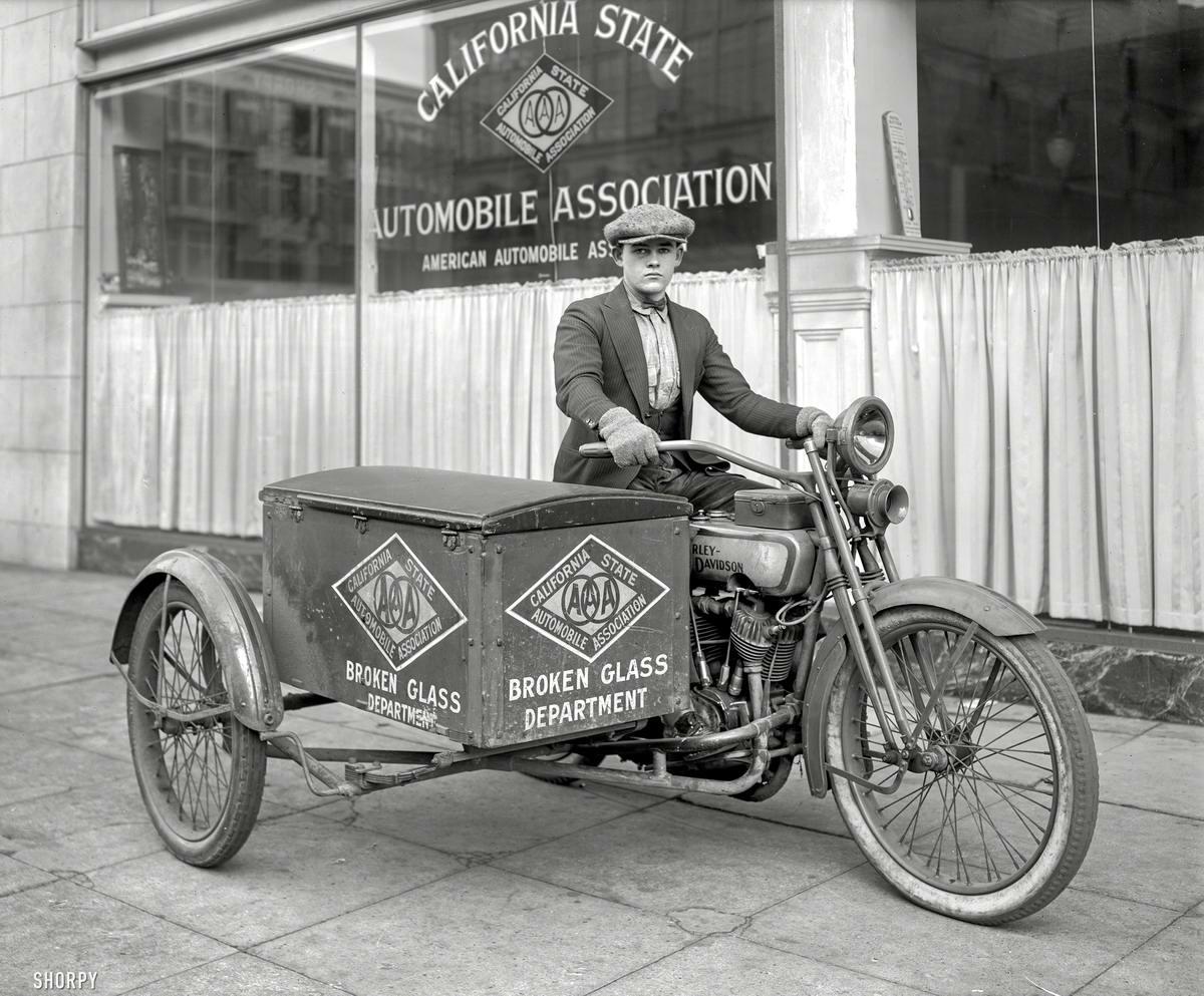 Специализированные транспортные средства начала 20-го века на снимках американских фотографов (30)