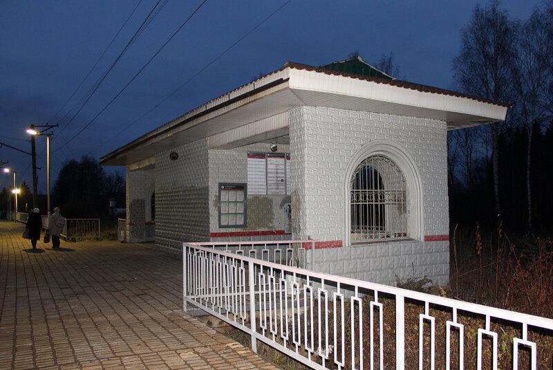 Кассовый павильон в Дубосеково