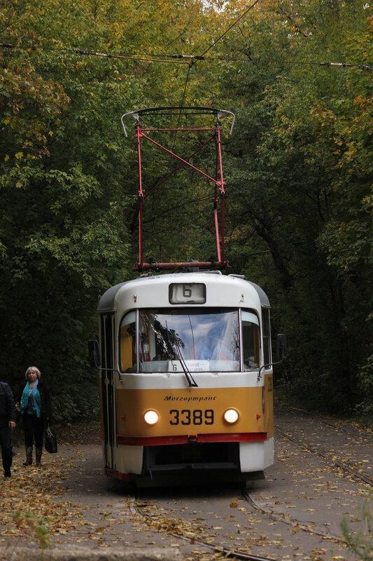 Трамвай 3389