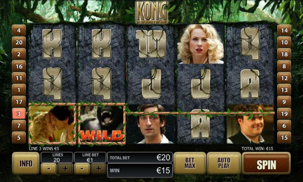 автомат King Kong