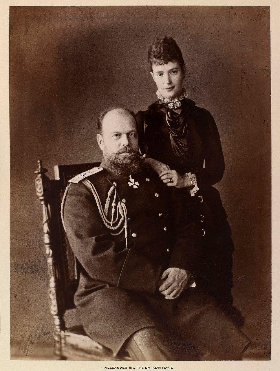 1890. Александр III и Мария Федоровна