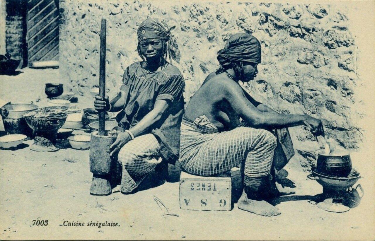 1920. Сенегал