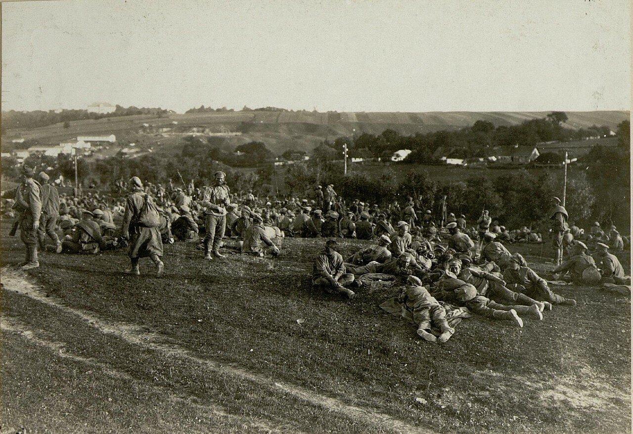 Русские военнопленные в Подгайцах