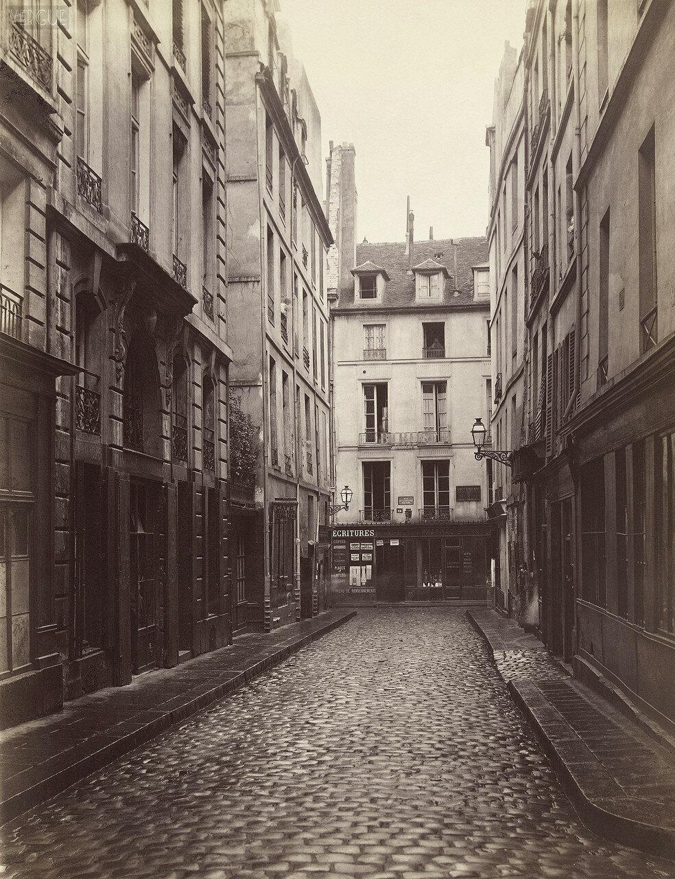 Рю де Клос Жорж. 1866