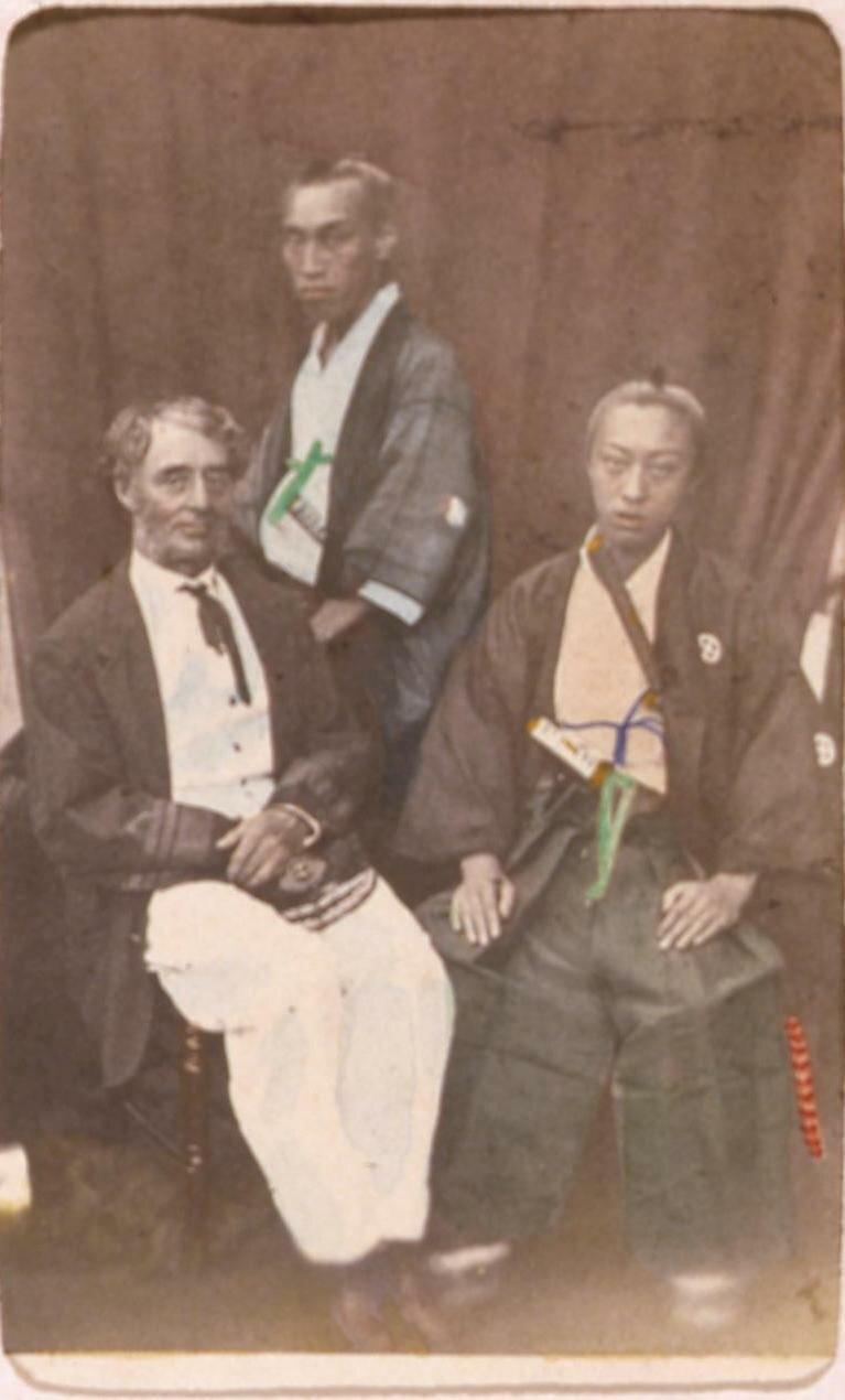 Князь Сацума. 1863